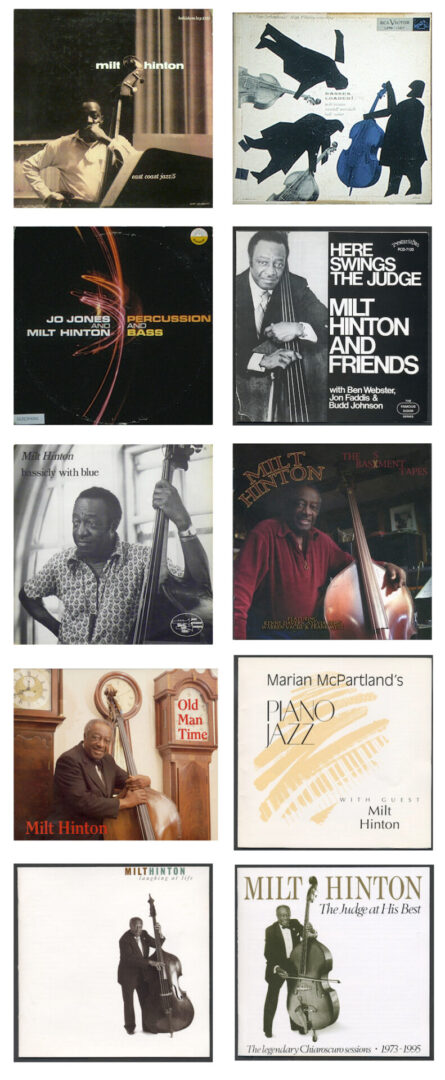 Albums-MILT ALONE Collage