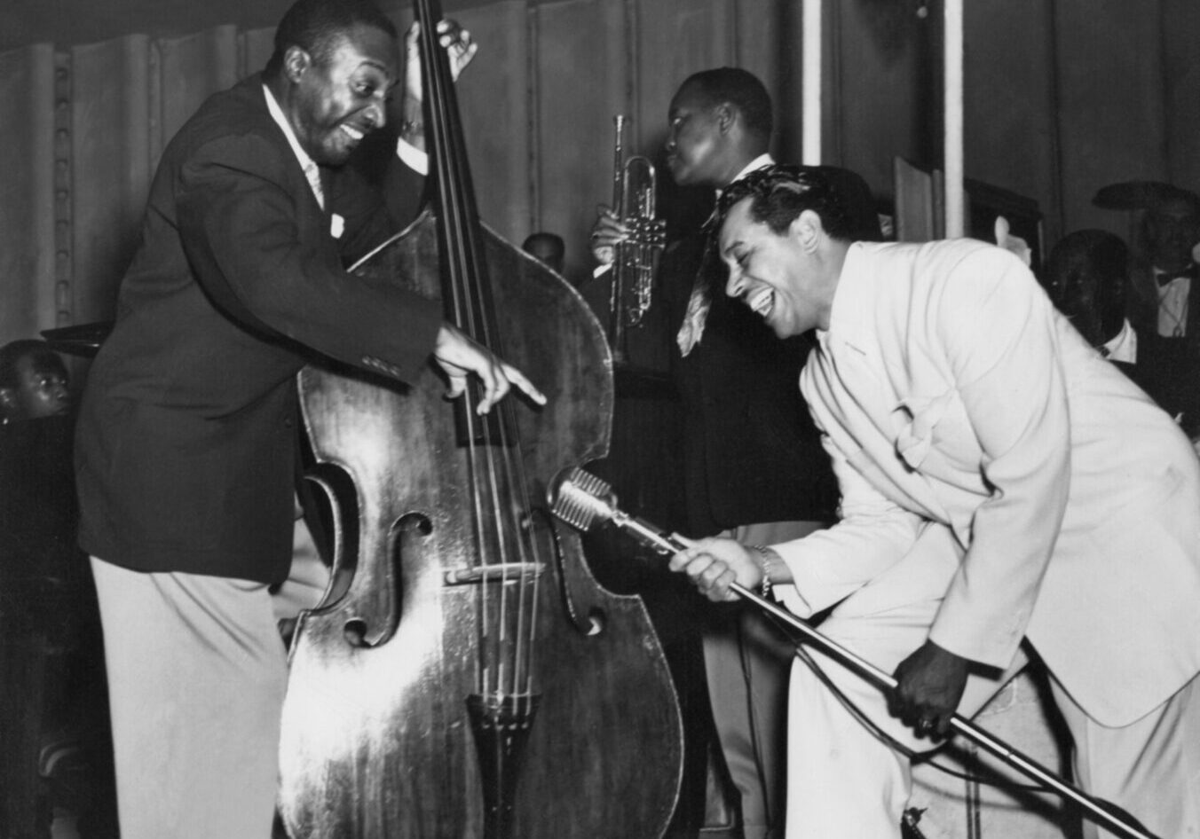 Cab Calloway with Milt
